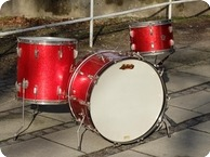 Ludwig Vintage Vintage 1960 Red Sparkle