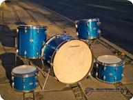 Slingerland USA Vintage 1970 Blue Sparkle