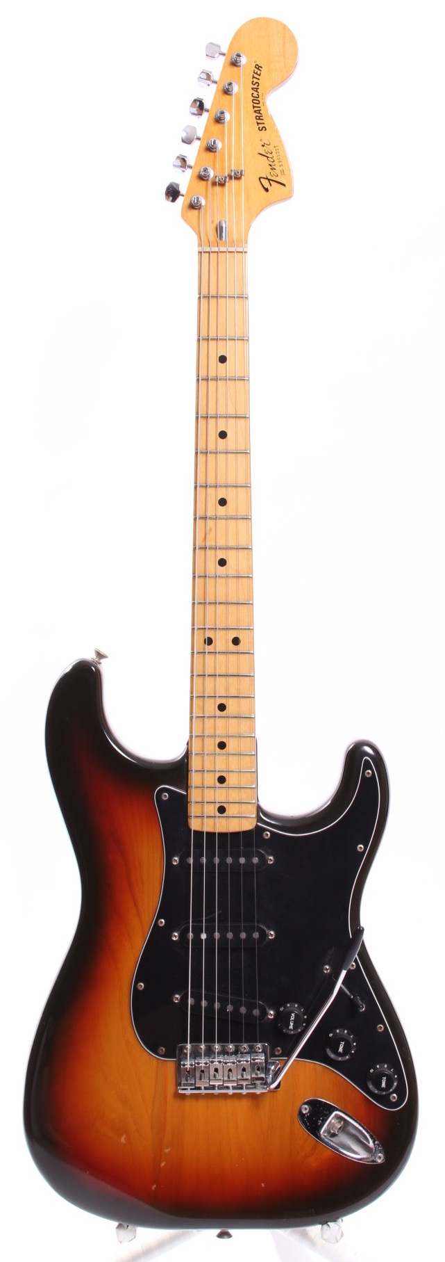 fender stratocaster 1980 sunburst guitar for sale yeahman 39 s guitars. Black Bedroom Furniture Sets. Home Design Ideas