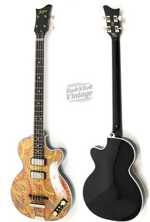 Hofner Club Limted Edition Paisley 2015 Paisley And Black