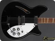 Rickenbacker 365 1967 Jetglo Black