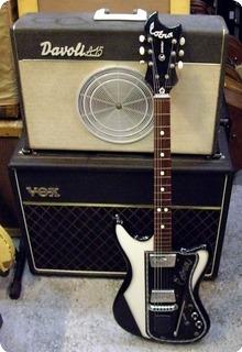 Wandre & Davoli Amp Cobra 1960 Black/withe
