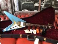 Gibson Benchmark 59 Flying V 2014 Pelham Blue