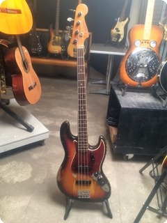 Fender Jazz Bass 1966 Sunburst
