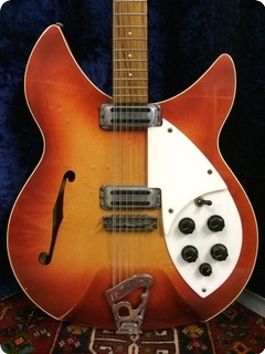 Rickenbacker Rose Morris 1993 Export Model   Ex The Who 1964 Fireglo
