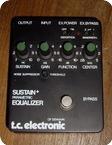 T.C. Electronic Sustain Parametric Equalizer 1980 Black Metal Box