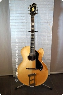 Hagstrom Jimmy O Hole 1977 Blond