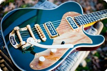 Red Rocket Guitars Atomic Duo 2016 Cadillac Green