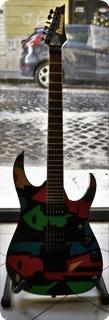 Ibanez Jpm 100 P1 1997 Multicolor Pattern