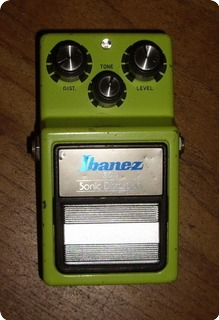Ibanez Sd9  Sonic Distortion 1980 Green