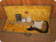 Fender STRATOCASTER AMERICAN DELUXE 50TH ANNIVERSARY LIMITED EDITION POSSIBLE TRADES IN TERMS AND CONDITIONS 2005 2 Tone Sunburst Gold