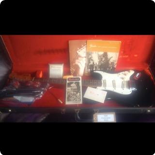 Fender Stratocaster Hendrix 1967 Black/green
