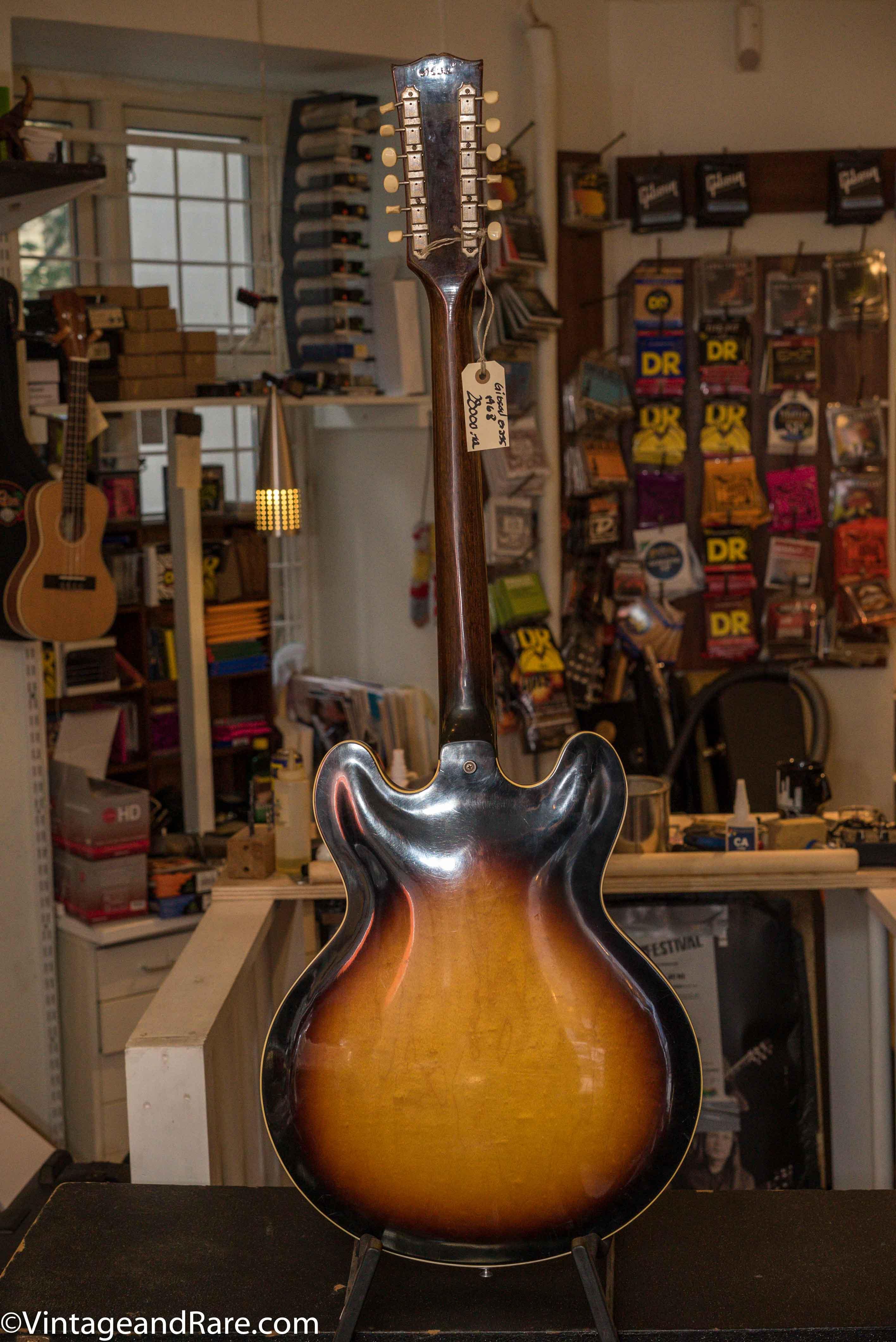 gibson es 335 12 string set up as 6 string 1968 guitar for sale instrumentshoppen. Black Bedroom Furniture Sets. Home Design Ideas