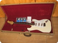 Esp STRATOCASTER CUSTOM 62 COPY LIPSTICKS PICKUPS POSSIBLE TRADES IN TERMS AND CONDITIONS Vintage White