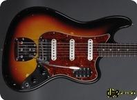Fender Bass VI 1963 3 tone Sunburst