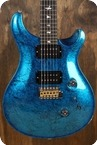 PRS PRS Wood Library Standard 24 Blue Foil 2016 Rare Blue Metal Foil Finish