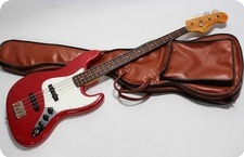 EdwardsESP Jazz Bass 2010 Trino Red