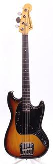 Fender Mustang Bass 1974 Sunburst
