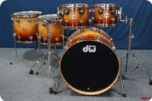 Dw Collectors Series Exotic 2016 Natural To Deep Rich Red Fade Over Heartwood Curly