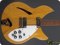 Rickenbacker 330 12 1966 Mapleglo Natural