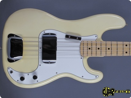 Fender Precision / P Bass 1974 Olympic White