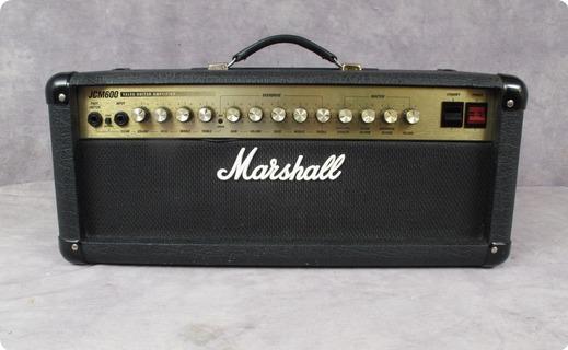 marshall jcm600 1997 black tolex amp for sale andy baxter bass guitars ltd. Black Bedroom Furniture Sets. Home Design Ideas