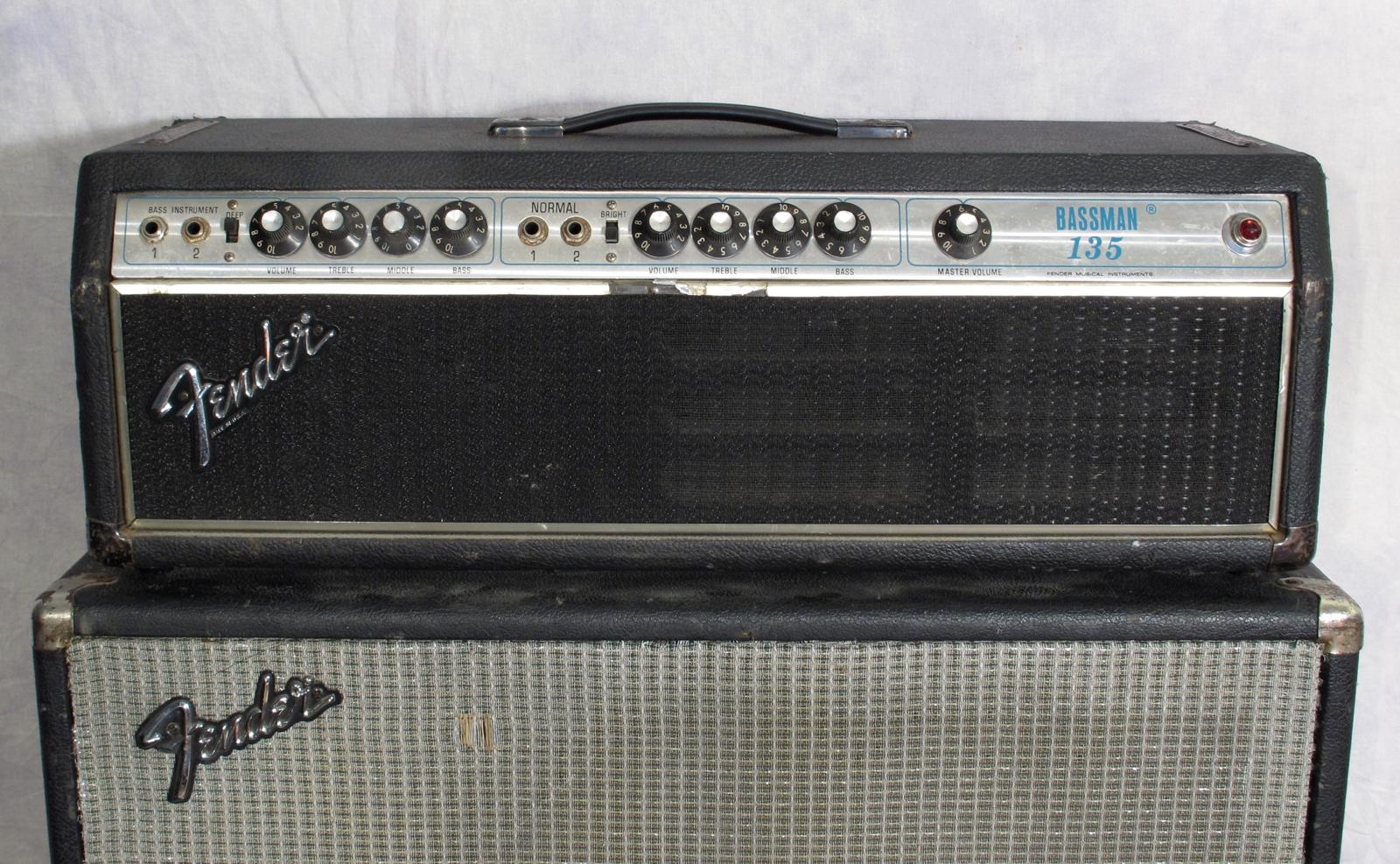 fender bassman 135 serial numbers