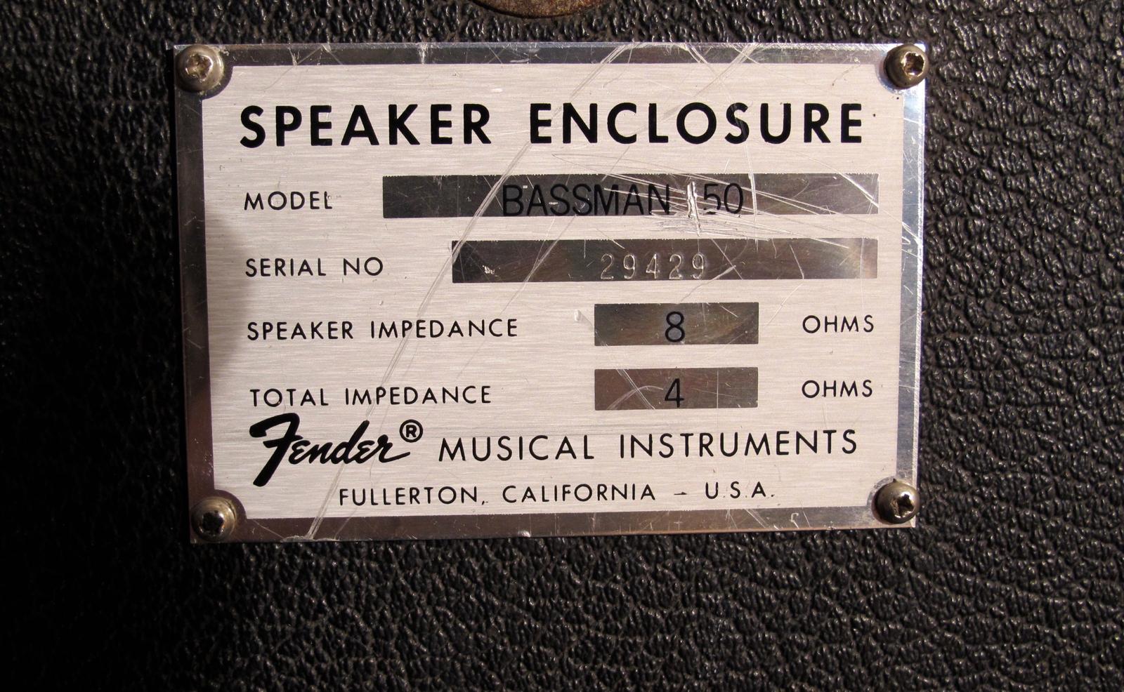 Fender Bassman 135 1980 Black Tolex Amp For Sale Andy Baxter