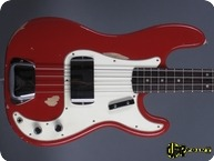 Fender Precision P Bass 1965 Dakota Red