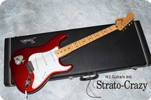 Fendr Stratocaster Candy Apple Red