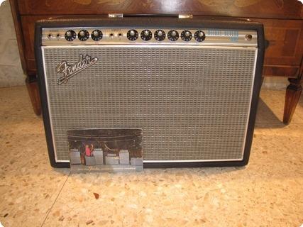Fender Deluxe Reverb 1968 Silver Face Drop Edge
