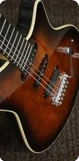 Manne Falcon SB Custom 2016 Brown Burst