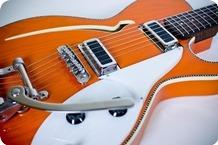 Red Rocket Guitars Commander Ric 2016 Heritage Orange