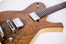 Dark Matter By Red Rocket Guitars DM 1 2016 Claro Walnut