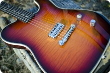 Red Rocket Guitars Artist Series Atomic 2016 Flame Top Burst
