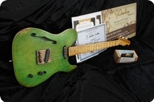 J.L.G. Custom Series Thinline T 2016 Agend Emerald Green Nitro