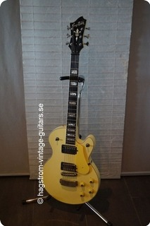 Hagstrom Swede  1980 Yellow