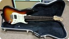 Fender American Deluxe Strat HSS 2007 Sunburst