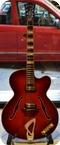Hofner Very Thin 4562 1961 Red Sunburst