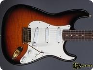 Fender Stratocaster 50th Anniversary LTD 1996 Sunburst Flametop