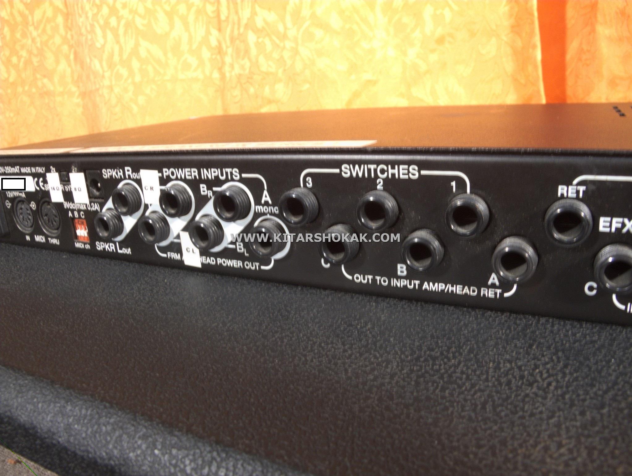 Brunetti MATRIX 2000's Grey Amp For Sale Kitarshokak