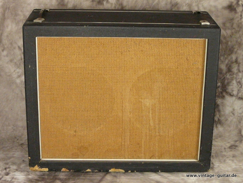 Hiwatt 2 X 12 Cabinet 1968 Black Tolex Amp For Sale Vintage