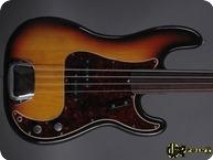 Fender Precision P Bass 1971 3 tone Sunburst