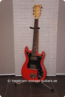 Hagstrom Hiin 1971 Red