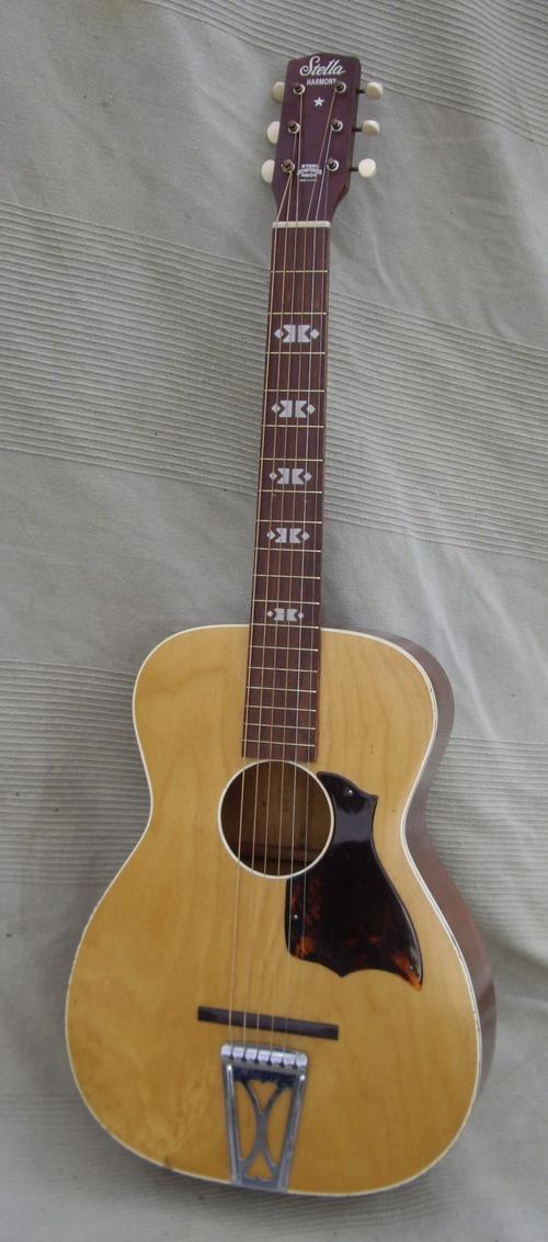 Stella harmony guitar parts