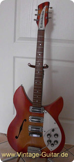 Rickenbacker 345 Rose Morris Model 1998 1967 Fireglo