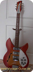 Rickenbacker 345 Rose Morris Model 1998 1967 Fireglo