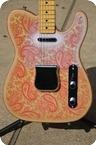 Keller Guitars 1968 Pink Paisley Telecaster 2016 Nitro Pink Paisley