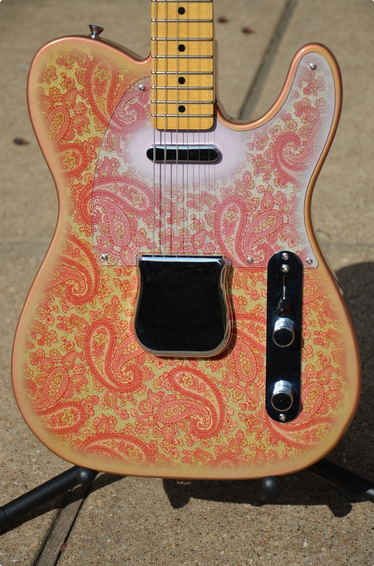 Keller Guitars 1968 Pink Paisley Telecaster 2016 Nitro
