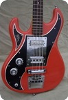 Watkins Rapier Bass Lefty Left 1969 Fiesta Red